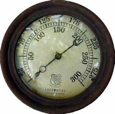 Ashton steam locomotive gauge off norfolk western railroad steam steam pressure gauge yahoo image search results altavistaventures Gallery