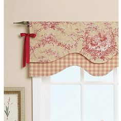 Reversible Window Valance-One Size Only Image 3 of 6