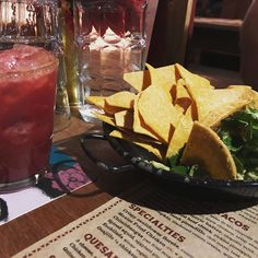 Corn chips and Guacamole! Complimented by a black plan and cinnamon margarita. Best birthday dinner ever! Crohns Awareness, Corn Chips, Birthday Dinners, Margarita, Gluten Free Recipes, Guacamole, Free Food, Compliments, Cinnamon