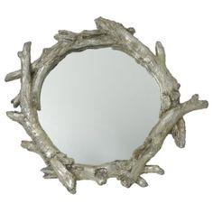 Land of Nod -- Kids Mirrors: Silver Twigs Wall Mirror in All Room Decor Big Girl Rooms, Boy Room, Kids Room, Child's Room, Girl Nursery, Girls Bedroom, Triplets Nursery, Bedroom Themes, Bedroom Ideas