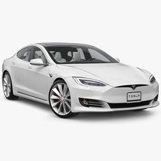 tesla s model Alternative Fuel, Models For Sale, Tesla S, Low Poly Models