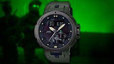 Casio анонсировала два новых оформления премиальной серии аутдор часов PRW-7000