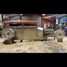 Low Fast Famous — Hot Wheels - This must be what taking it to the. Custom Rat Rods, Custom Cars, Jeep Rat Rod, Rat Rod Build, F100, Homemade Go Kart, Custom Metal Fabrication, Traditional Hot Rod, Classy Cars