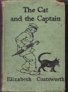 The Cat and the Captain (1928) by Elizabeth Coatsworth - book cover