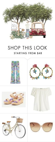 """Oh to Enjoy the Relaxation of the Weekend"" by shellygregory ❤ liked on Polyvore featuring The Seafarer, Les Néréides, Etro and Linda Farrow"