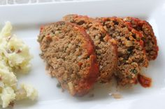 This 21 Day Fix approved Italian Meatloaf is delicious! It's a super simple but healthy dinner! Plus, it's gluten free thanks to using oats in place of breadcrumbs!