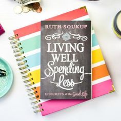Get the New York Times Bestselling book that started a living well revolution, and the life-changing planner designed to help you help you put it into practice.  This must-have bundle includes both the Living Well Planner™ and our number-one bestselling book, Living Well Spending Less: 12 Secrets of the Good Life.