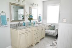 Robin's Bathroom Makeover Reveal {Part Two} - Beneath My Heart