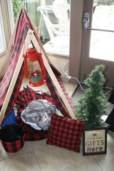 Lumber Jack Baby Shower Party Ideas | Photo 1 of 29