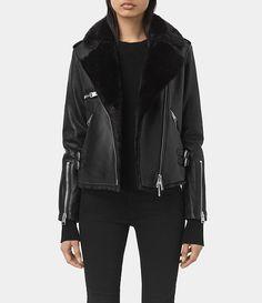 AllSaints New Arrivals: Higgens Lux Leather Biker Jacket