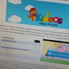 MamaSmiths.com loves Kideos!