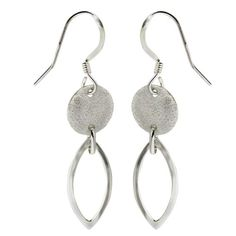 Amazon.com: Hoop Earrings For Women Twisted Circle Sterling Silver India Jewelry 1.75 Inches: ShalinCraft: ShalinIndia
