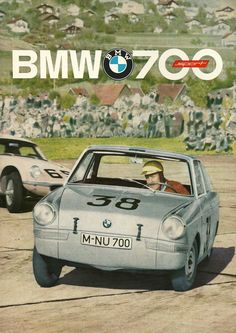 BMW 700 Sport Coupe brochure from 1962.