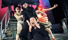 Theatrical high japes ... Spymonkey's production of Moby Dick