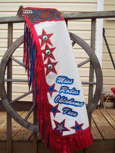 Rodeo Chaps Designs | Miss Rodeo Oklahoma Teen 2010, Custom Queen Chaps, Queen Chaps