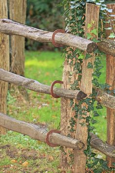 Horseshoe Fence Art Print by Karen Silvestri. All prints are professionally printed, packaged, and shipped within 3 - 4 business days. Choose from multiple sizes and hundreds of frame and mat options. Log Fence, Rustic Fence, Farm Fence, Pipe Fence, Field Fence, Farm Gate, Rustic Outdoor, Outdoor Projects, Garden Projects