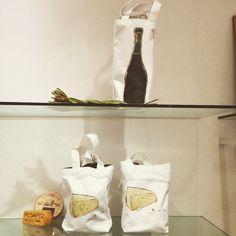 wine bag,cheese bag