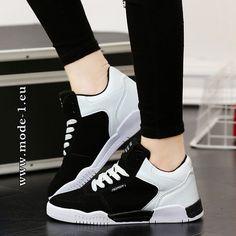 1b3389df2a29a Herren Skater Schuhe in Schwarz Weiß  herren  mode  fashion  sommer  2019