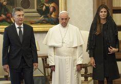 papa francisco maurício macri argentina