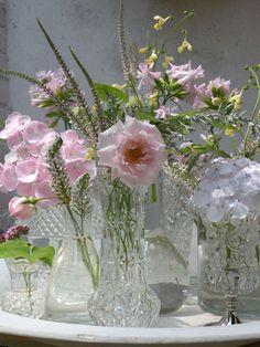 Roze zomerboeket