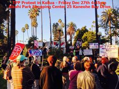 Kailua, HI We're on for the next TPP protest in the Aikahi Park Shopping Center, just a few blocks away from Obama's Vacation home. Our intent is to attract some of the world-wide press that will be in Kailu… Click flyer for more >>