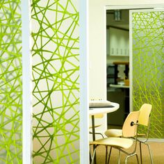 3form Office - Varia Connection  #design #partition #doors #fibers #office these panels come in many varieties of sliding or fixed panels