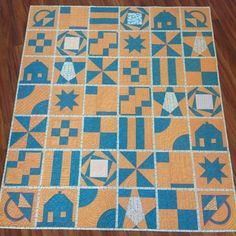 Building Blocks Quilt: Margie's Building Blocks Quilt
