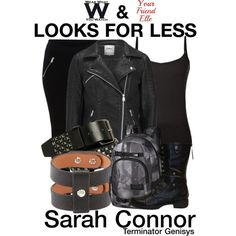 Inspired by Emilia Clarke as Sarah Connor in 2015's Terminator Genisys.