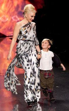 Gwen Stefani and Kingston rock the runway