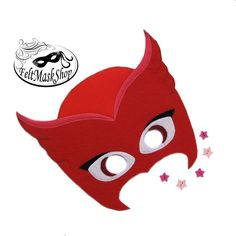OWLETTE MASK  Felt mask  Pj Masks Amaya  Super hero felt image 0 Halloween Masks, Halloween 2020, Felt Mask, Pj Mask, Mask Party, Mask For Kids, Diy And Crafts, Snoopy, Superhero