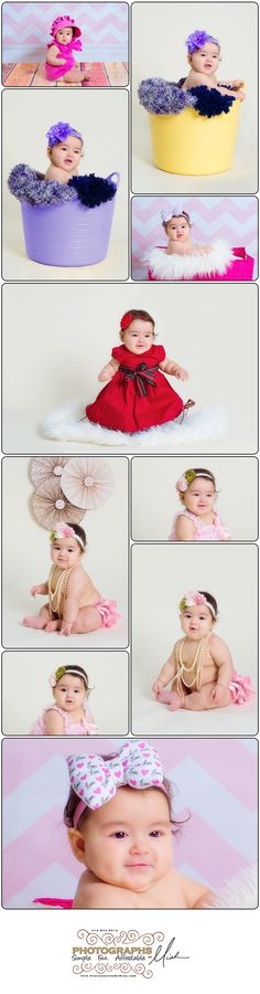 Photographs By Mish | Pittsburgh Children Photography | 6 month baby shoot