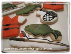 Sweet Creations by Stephanie: Fishing Cookies