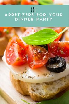 It doesn't take to Italy to know that the simple, classic recipe is the perfect way to make use of juicy and ripe summer tomatoes, or impress holiday guests. Mexican Food Recipes, Beef Recipes, Whole Food Recipes, Vegetarian Recipes, Chicken Recipes, Cooking Recipes, Appetizer Recipes, Snack Recipes, Dinner Recipes