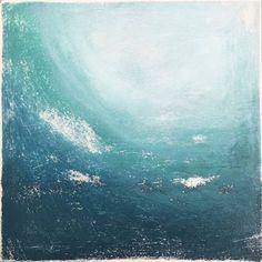 "ORIGINAL SOLD | Saatchi Art Artist Melanie Biehle; Painting, ""Vintage Surf"" #art"