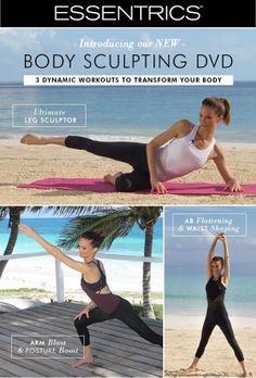 Tone and Shape your body with #Essentrics new Body Sculpting DVD!  Shop here: http://www.essentrics.com/page/productdetails/all/Body_Sculpting_Series_DVD.htm