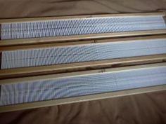 comment choisir le peigne dans un métier à peigne envergeur et calculer la quantité de fils nécessaire au tissage Loom Weaving, Textiles, Sissi, Weave, Art, Textile Dyeing, Hand Weaving, Weaving Projects, Knitting Machine