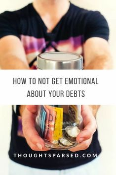 Don't Get Emotional About Your Debts Article Of The Week, Life Hacks Every Girl Should Know, Relationship Posts, Loan Consolidation, Paying Off Credit Cards, Blog Topics, New Things To Learn, Ways To Save Money, Thoughts