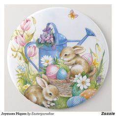 Nostalgic Easter chicks Dinner Plates Artwork designed by Easterparadise. Happy Easter, Easter Bunny, Easter Eggs In Movies, Easter Drawings, Easter Crafts, Easter Decor, Easter Gift, Easter Ideas, Easter Centerpiece