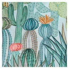 SuTurno Cactus Silk Scarf - The Conran Shop