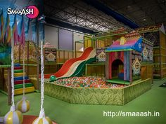 The brand new kids' play area at Smaaash, is full of cool rides for little ones where they could play, somersault, scream,  make friends and go all out. For more information visit https://smaaash.in/Mumbai/deals-and-packages/smaaash-junior-kids-play-area-60