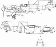 Technical Drawing, Luftwaffe, Diagram, English, Japanese, Ww2, Planes, Movie, World War