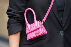 Jacquemus Turns Its Mini Bags Into Jewelry Ysl Crossbody Bag, Leather Clutch Bags, Jacquemus Bag, Pink Handbags, Everyday Bag, Couture, Small Shoulder Bag, Cloth Bags, Fashion Bags
