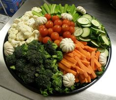 vegetable tray ideas | veggies