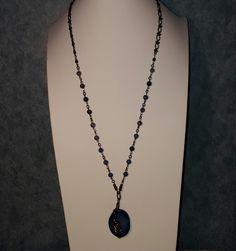 Blue Agate Aventurine Necklace