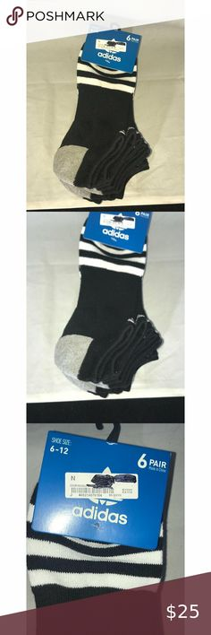 Adidas Ankle Athletic Socks Men's Sz 6-12 You are viewing a 6 pack of Adidas black and white ankle socks athletic moisture wicking stretchy ; Men's Sz 6-12 NWT Please view all pics and ask any questions you may have prior to making a bid, offer, or purchase. The item in the pictures is the EXACT item you will receive if placing an order. Please do not hesitate to ask any questions or make offers !! I will accept almost all REASONABLE offers !! Thanks so much for your time and your interest… Adidas Shoes, Adidas Men, Socks Men, Athletic Socks, Ankle Socks, Black Adidas, Fashion Tips, Fashion Design, Fashion Trends