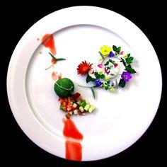 Chef Mattia Stroppa  L'art de dresser et présenter une assiette comme un chef de la gastronomie...