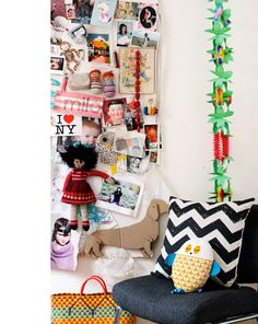 I had this exact same garland for my 10th birthday party!