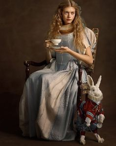 """48 Likes, 2 Comments - Laura du Pre (@authordupre) on Instagram: """"#16thcentury Alice in Wonderland."""""""