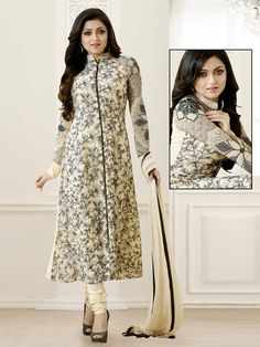 Drashti Dhami In Anarkali Suits. Item Code: SLHD83001 http://www.bharatplaza.com/new-arrivals/salwar-kameez.html
