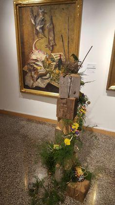 Rockford art museum- art in bloom